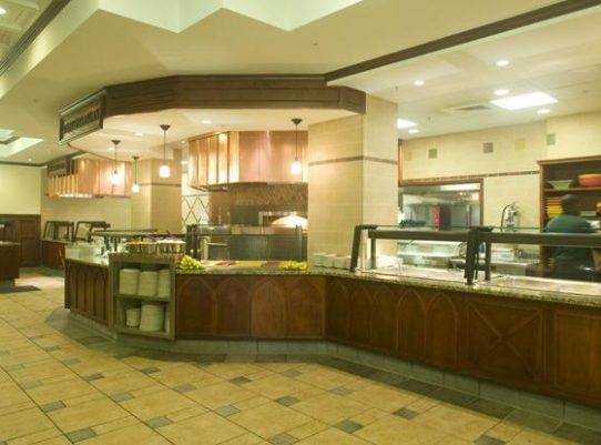 Brooks Residential Hall Cafeteria