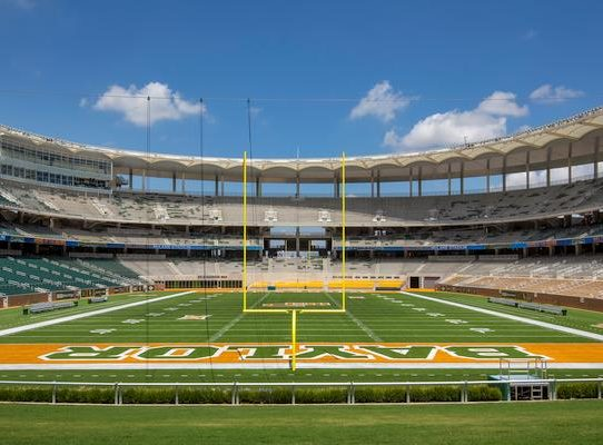 McLane Stadium Field
