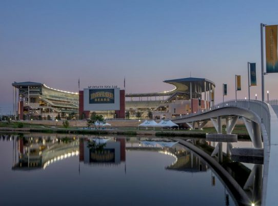 McLane Stadium River
