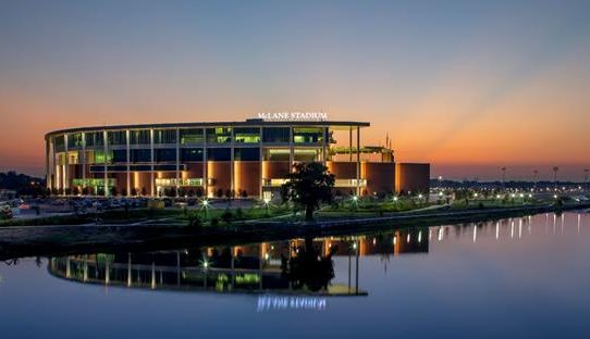 McLane Stadium Sunset
